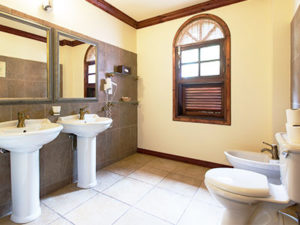 Junior Suite: Bathroom